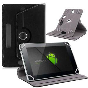 """Black Flip Leather Folio Case Stand Box Cover For Android Asus Tablet 7"""" 8"""" 10.1"""