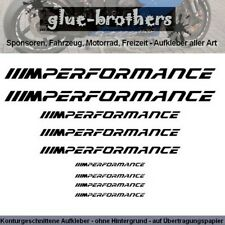 BMW M Performance Aufkleber Set Farbwahl Motorsport Decal Sticker JDM