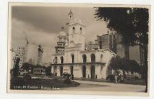 Buenos Aires Argentina El Cabildo Vintage RPPC Postcard US020