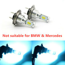 US H7 8000K 6000LM 55W CSP LED High Low Beam Headlights Bulbs Kit Super Bright