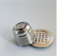 2nd Stainless Steel Reusable Refillable Capsule + Spoon For Nespresso Machine