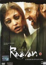 RAAVAN -  BOLLYWOOD DVD - ASHWARIYA RAI, ABHISHEK BACHCHAN, GOVINDA, VIKRAM.