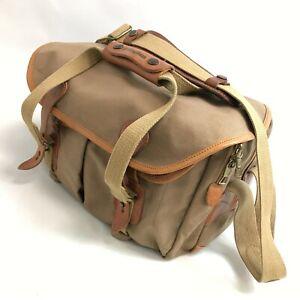 Billingham Camera Carry Case Shoulder Bag Mid Brown DSLR SLR Accessory 033052