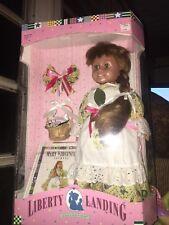 "Liberty Landing Doll Mary Virginia The Brass Key 1996 18"" Vinyl Doll NRFB"