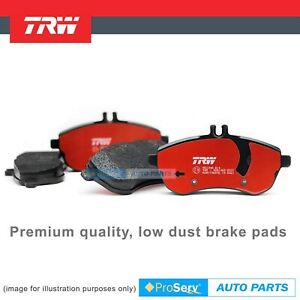 Rear HD Premium Brake Pads For Holden Adventra Caprice Statesman WH WK WL