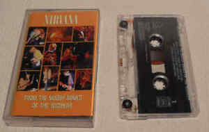 Nirvana From The Muddy Banks of the Wishkah Geffen GEC 25105 Cassette Tape Album
