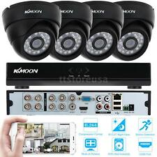 8CH 960H DVR 4pcs 800TVL CCTV Home Security Camera System IR-CUT Night View E4X9