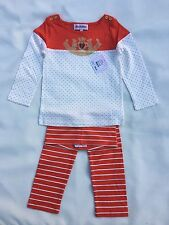 New Juicy Couture Girls Leggings Set Size 3/6 M