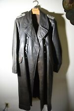 Lw Officer leather overcoat for Administration Tsd officer.