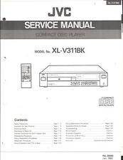 JVC Original Service Manual für XL-V 311