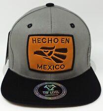 HECHO EN MEXICO Snapback Cap Hat Mexican Aguila Flag Adult OSFM NWT