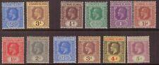 Leeward Islands King George V 1912-32 MINT NEVER HINGED STAMPS TO 5d