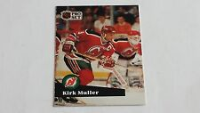 1991/92 PRO SET HOCKEY KIRK MULLER CARD #134***NEW JERSEY DEVILS***