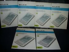 Lot of 6 Belkin F8N660TT Anti-Glare Screen Protector for Google eReader - New