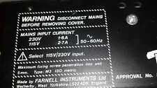 Farnell Power Supply 230 Vac - 115 Vac Quad Smt Pick and Place