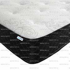 Fabric Medium Beds with Mattresses