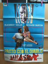 3463           PACTO CON EL DIABLO ELIZABETH TAYLOR RICHARD BURTON