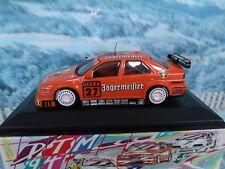 1/43 Minichamps   Alfa romeo 155  V6 TI DTM 1994 team Schubel Bartels