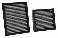 K&N CABIN FILTER SET FOR CITROEN C2 C3 DS3 Cactus C4 Peugeot 207 208 2008