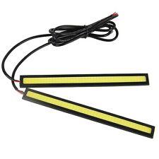 COB 17CM Car Daytime Running Light Head Lamp 84LED Daylight Kit White Universal