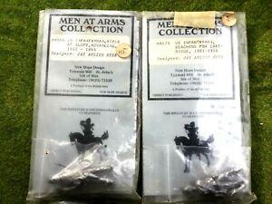 2 US infantrymen American Civil War  New Hope Design 54 mm metal kits MA664 & 67
