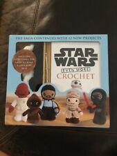 Crochet Star Wars The Saga Continues Craft Kit 12 New Projects Bb8 Jawa Needle