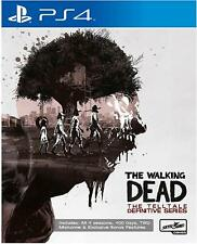 The Walking Dead Telltale Definitive Series For PS4 - All 4 Seasons & DLC (New)