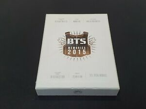 BTS Memories of 2015 DVD 4 Disc Digipak with 108p Photobook opened + DHL SHIP