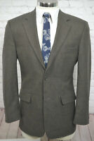 Pronto Uomo Mens Brown Wool 2 Button Sport Coat Blazer Jacket SIZE 39R