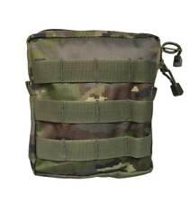 Bolso pouch boscoso pixelado molle cuadrado camuflaje militar bolso multiuso
