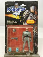 RoboCop Ultra Police Leader Rapid Repeat Cap Firing Action Figure Kenner 1988