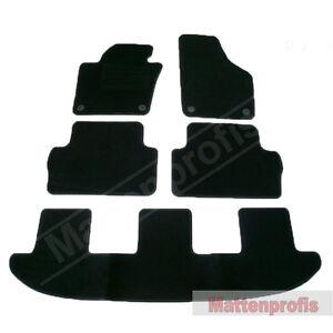 Mattenprofis Velours Fußmatten 5-teilig für Seat Alhambra 710 ab Bj.06/2010 -