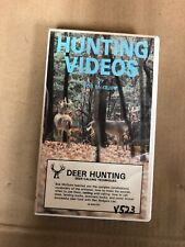 Hunting Videos By Bob Mcguire Vhs-Tested-Rare Vintage Collectible-Ship N 24 Hrs