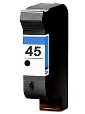 Non-OEM Replace For HP 45 Deskjet 1280 1600c Black Ink Cartridge