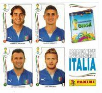 Brasil 2014 Figurine Aggiornamenti Italia Panini World Cup