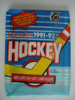1991-92 O-Pee-Chee Hockey Cards - 3 Pack of Cards - 8 Cards per Pack