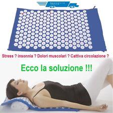 Tappetino materassino agopressione yoga fitness relax antistress rilassante