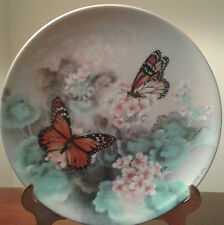 BRADFORD EXCHANGE LENA LIU GOSSAMER WINGS COLLECTOR BUTTERFLY 8 PLATE COLLECTION