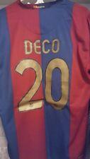 FC Barcelona DECO Jersey NIKE #20 XL AUTHENTIC