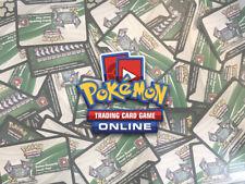 20x Detective Pikachu Unused Pokemon ONLINE TCG Codes Unused
