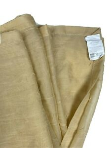 JC Penney Home Discontinued Swag Curtain Valance HUGE Tan Golden Wheat Sheer htf