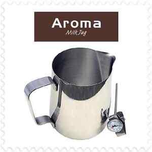 18/10 Commercial Grade Stainless Steel Milk Jug Coffee Frothing Tea 350mL 600mL