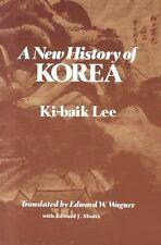 A New History of Korea by Ki-Baik Lee (Paperback, 1988)