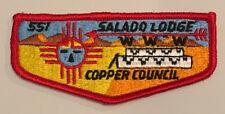 Order of the Arrow Salado Lodge 551S2 Rare Flap Mint