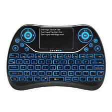 Backlit 2.4GHz Wireless Fly Air Mouse Keyboard Touchpad for Android TV BOX/ PC