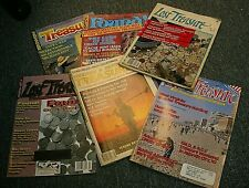 6 Vintage Issues Treasure - Research Magazines For Whites Garrett Metal Detector