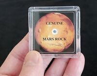 BASIC EDITION- MARS ROCK DISPLAY -MARTIAN METEORITE  +EASEL +CERTIFICATE