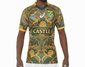 South Africa Springboks Blitzboks  Sevens 100 Anniversary Edition Rugby Jersey