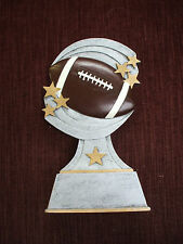 Football trophy resin award shooting star