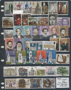 Great Britain Elizabeth II All Mint O.G. Some Complete Sets Lot #841